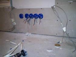 Электромонтажные работы в квартирах новостройках в Мурманске. Электромонтаж компанией Русский электрик